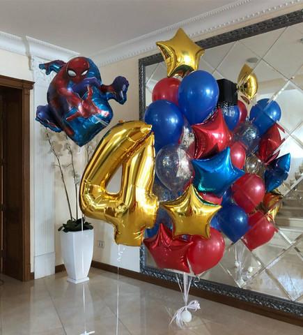 Набор воздушных шаров Человек-паук на Дне рождения