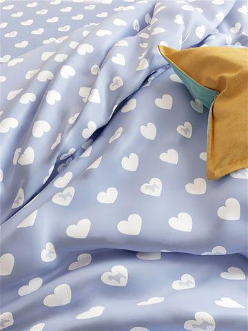 Простынь на резинке  -Нежность- натяжная 160х200х26 см 2-спальная