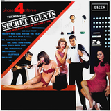 The Roland Shaw Orchestra / Themes For Secret Agents (LP)