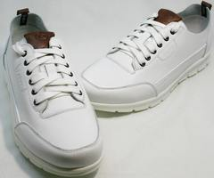 Кроссовки для повседневной носки мужские Faber 193909-3 White.