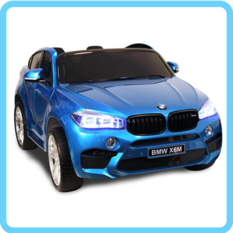 BMW-X6M-JJ2168 с мощными редукторами (ЛИЦЕНЗИОННАЯ МОДЕЛЬ) (двухместный) с дистанционным управлением