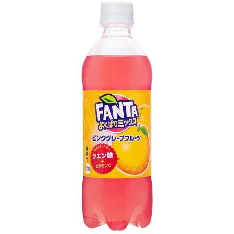 Fanta Pink Grapefruit Япония 0,49 л