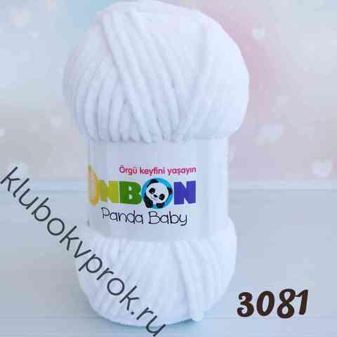 BONBON PANDA BABY 3081, Белый