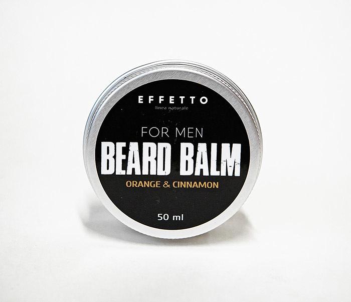 CARE181-1 Бальзам для бороды EFFETTO «ORANGE & CONNAMON» (50 мл)