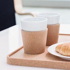 Фарфоровые кружки Bodum Bistro Cork Mug