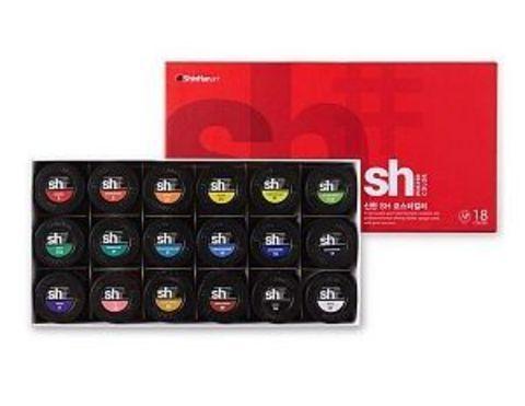 Набор постерных красок ShinHanart POSTER COLOR, 18 цветов, 30 мл