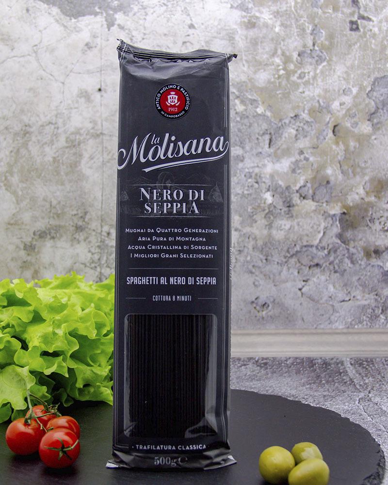 Макаронные изделия Спагетти с чернилами каракатицы La Molisana 500 гр.