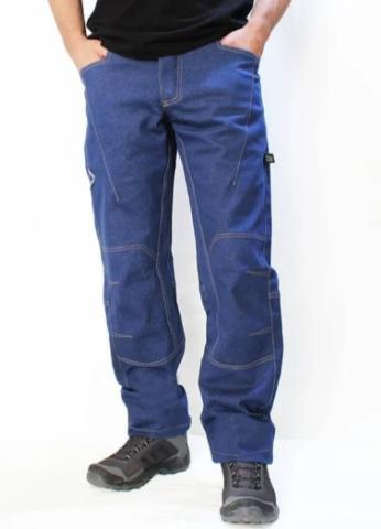 Брюки для скалолазания Hi-Gears Climbing Pants -Mega Bould+ 4 Season blue jeans (синие джинсы)