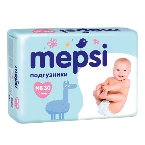 Подгузники Mepsi,  до 6 кг  маленькая упаковка (NB)