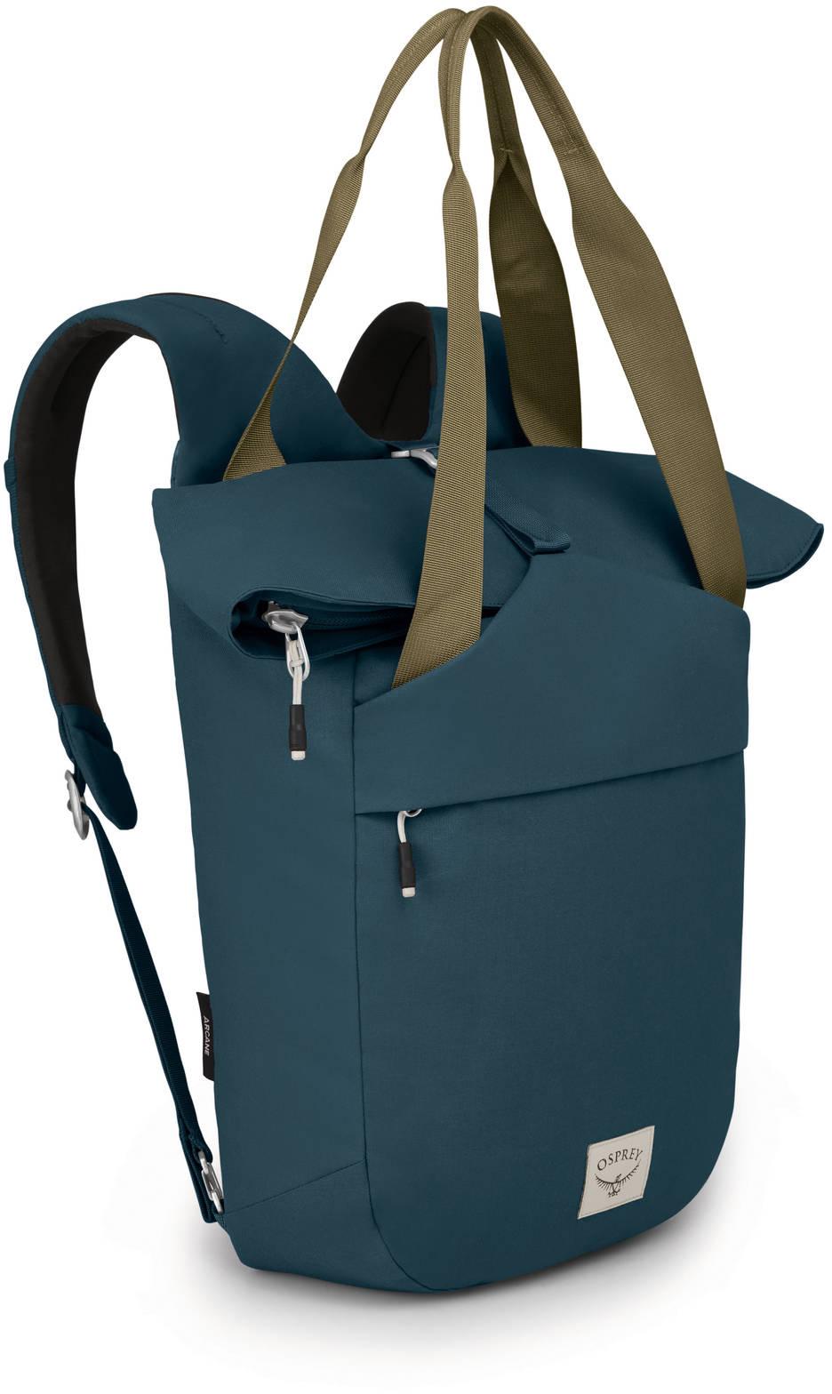 Городские рюкзаки Рюкзак сумка Osprey Arcane Tote Stargazer Blue Arcane_Tote_Pack_S20_Side_Stargazer_Blue_web.jpg