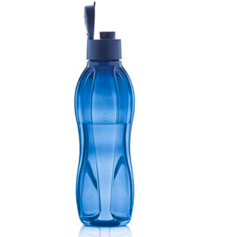 Бутылка Эко 1 л в тёмно-синем цвете