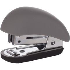 Степлер-мини Attache Comfort до 15 листов серый (с покрытием Soft Touch)