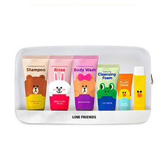 Дорожный набор CHARACTER WORLD Line Friends Travel Kit