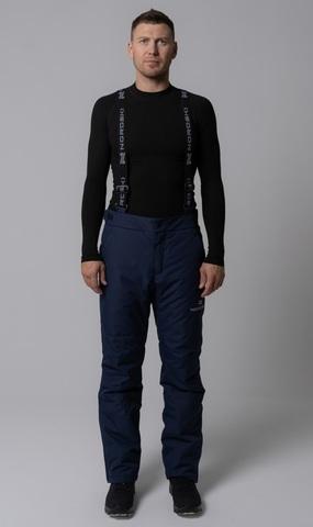Утепленные брюки Nordski Mount dark blue мужские