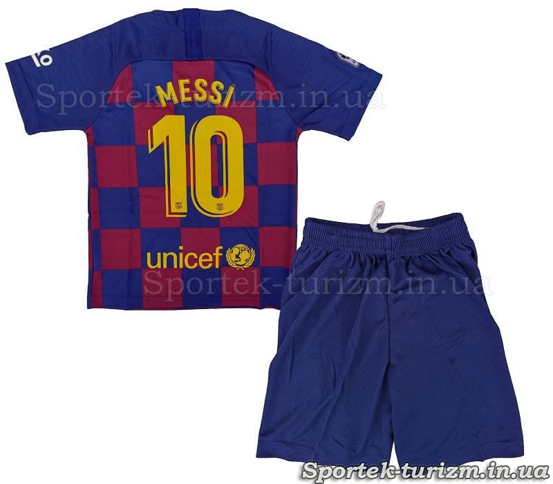 Вигляд ззаду футбольної форми BARCELONA MESSI 10 CO-1283