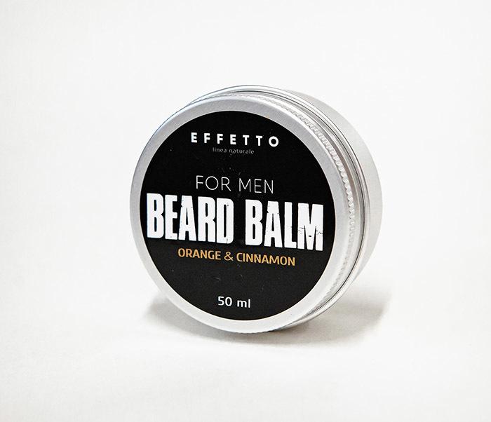 CARE181-1 Бальзам для бороды EFFETTO «ORANGE & CONNAMON» (50 мл) фото 02