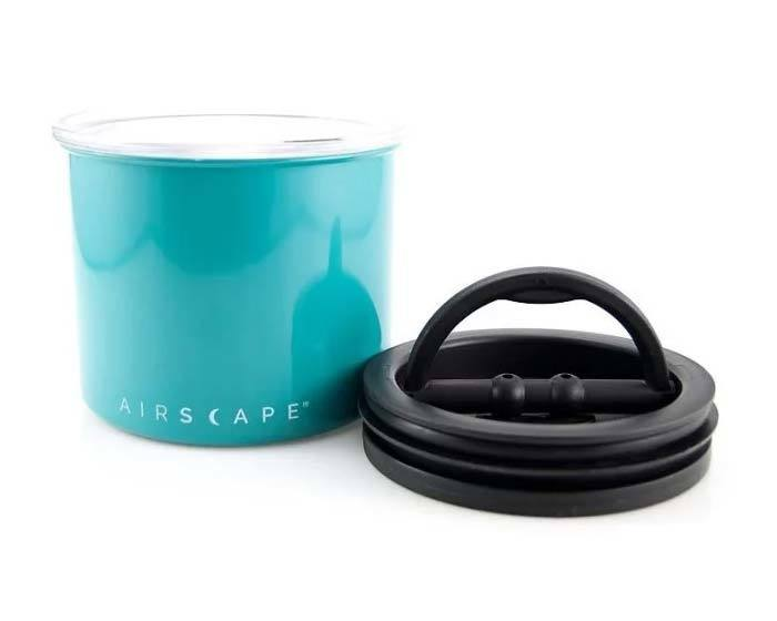 Контейнер для хранения кофе Planetary Design Airscape бирюзовый