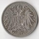 K7361, 1907, Австрия, 20 геллеров XF