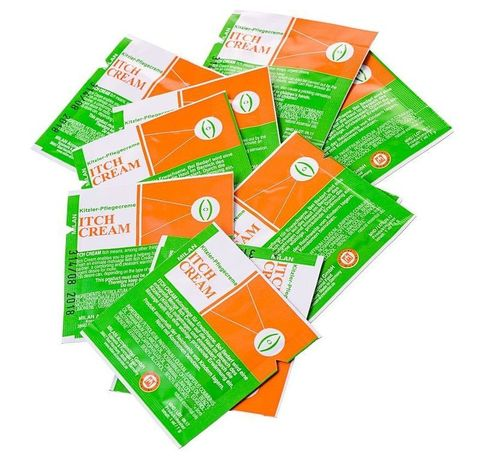 Набор из 10 пробников возбуждающего крема для женщин Itch Cream