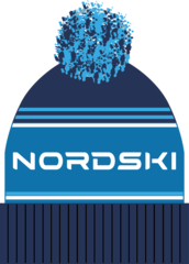 Шапка теплая Nordski Stripe Dark Blue