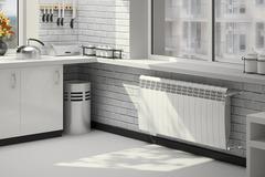 Радиатор биметаллический Royal Thermo Biliner Bianco Traffico 350 (белый)  - 6 секций