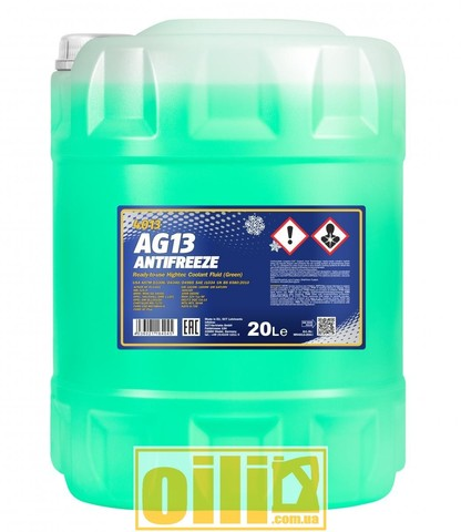 Mannol 4013 Antifreeze AG13 -40°C Hightec 20л