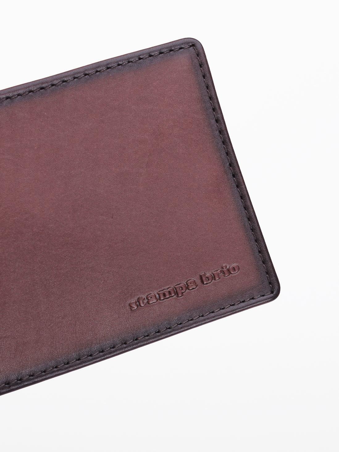 720 R - Зажим для купюр с монетником на молнии и RFID защитой
