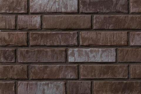 Stroeher - 359 kohlenglanz, Zeitlos, состаренная поверхность, ручная формовка, 240x71x14 - Клинкерная плитка для фасада и внутренней отделки