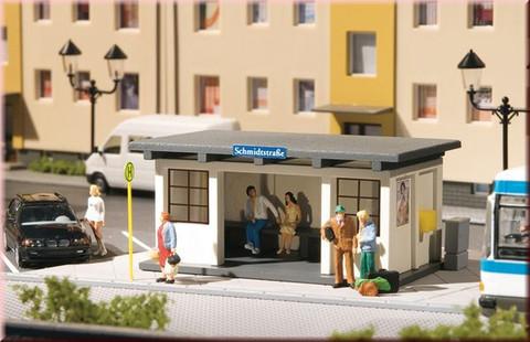 Павильоны Автобусной остановки - 2шт, (H0)
