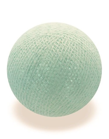 Хлопковых шарик мятная пастель