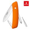 Швейцарский нож SWIZA D02 Standard, 95 мм, 6 функций, оранжевый
