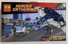 Супер Герои 79129 Погоня на Квинджете Мстителей,753 дет. Конструктор