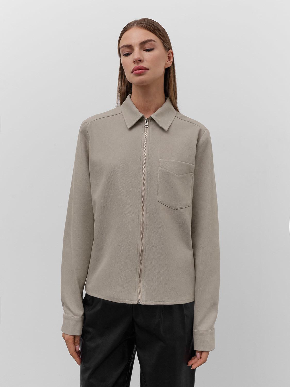 Рубашка Janice на молнии