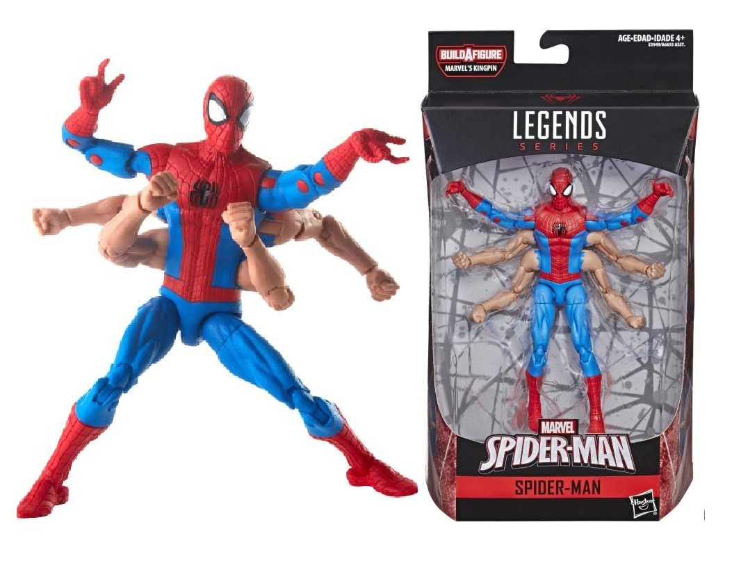 Человек Паук с 6 руками  - Spider-Man 6 arms