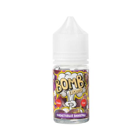 Жидкость Bomb Liquid Salt 30 мл Фиолетовый Виноград