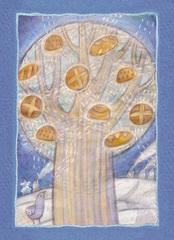 """Открытка почтовая """"Хлебное дерево"""""""