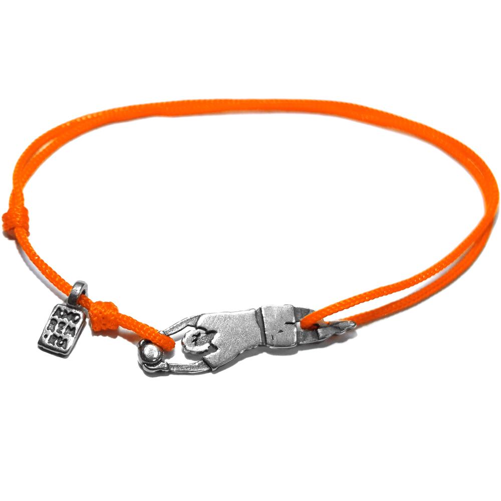 Goalkeeper Bracelet, sterling silver