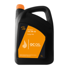 Моторное масло для легковых автомобилей QC Oil Long Life 5W-30 (полусинтетическое) (5л.)