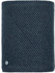 Шарф-труба вязаный с флисом Buff Neckwarmer Knitted Polar Disa Black