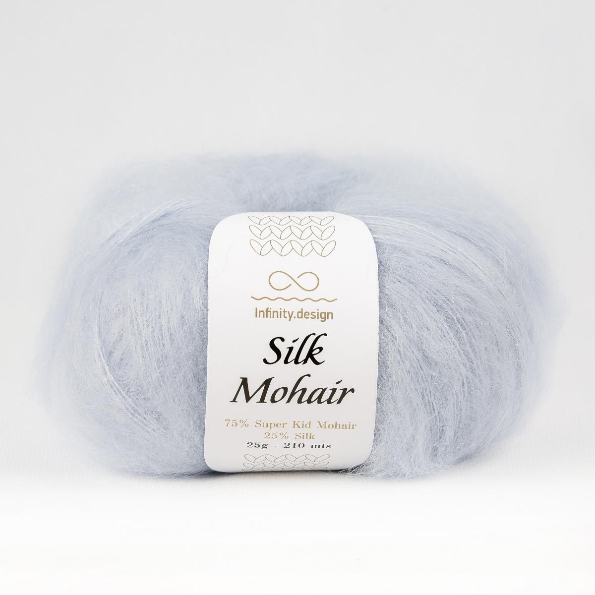 Пряжа Infinity Silk Mohair 5930 нежно-голубой
