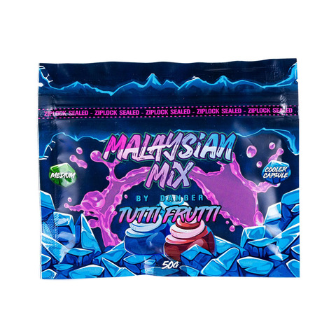 Кальянная Смесь Malaysian Mix 50 г Tutti Frutti (Тутти Фрутти)