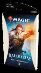 Тематический белый бустер выпуска «Kaldheim» (английский)