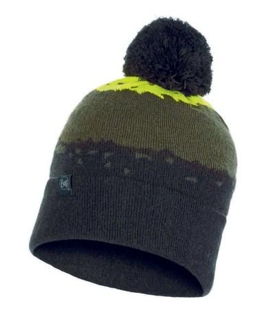 Вязаная шапка Buff Hat Knitted Tove Citric фото 1