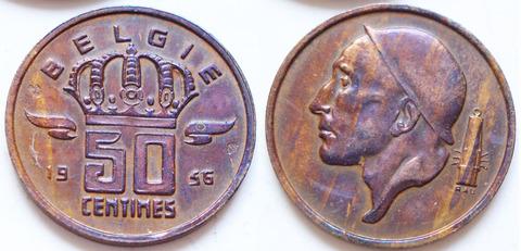 Бельгия 50 сантимов