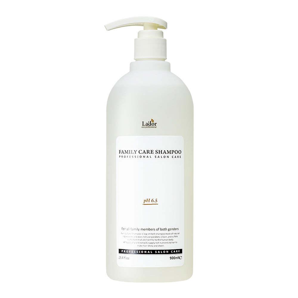 Волосы Шампунь для всей семьи  La'dor Family Care Shampoo 900мл 182_shop1_15300872081739.jpg