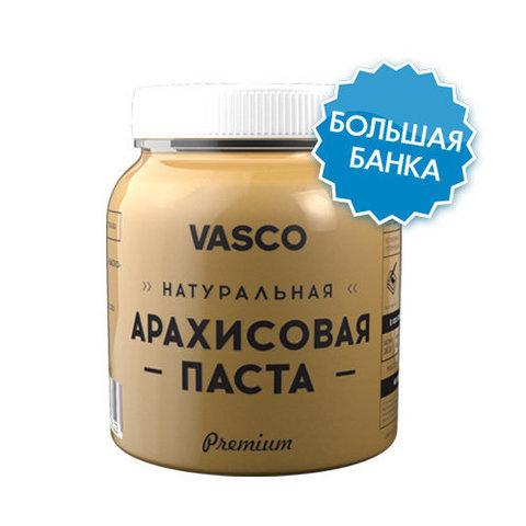 Натуральная арахисовая паста Vasco 800г