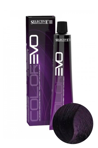 Краска для волос ColorEVO 5.7 (Светло-каштановый фиолетовый), Selective, 100 мл