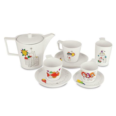 Набор 2шт чашек для чая с блюдцем 0,24л Eclipse ornament