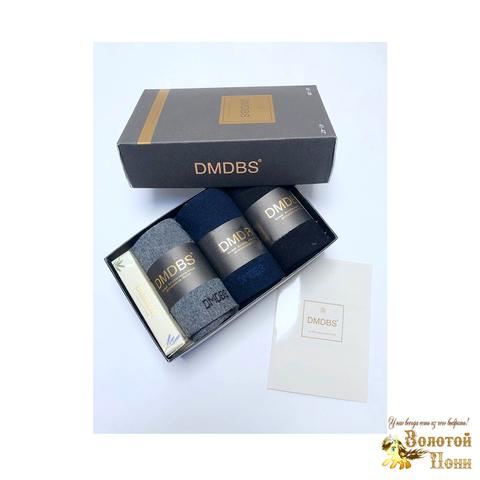Носки мужские 3 шт в коробке+мыло (40-45) 190108-AF-116/115