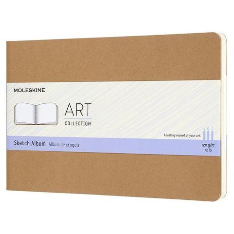 Блокнот для рисования Moleskine ART CAHIER SKETCH ALBUM ARTSKA3P3 130х210мм обложка картон 88стр. бежевый